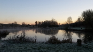 A very frost early morning at Wherwell